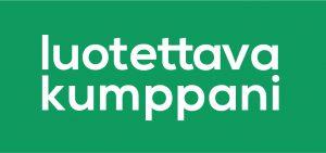 Luotettava kumpaani -logo
