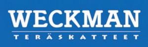 Weckman teräskatteet logo.